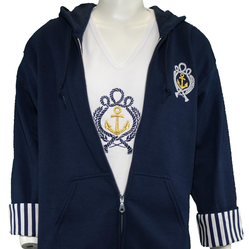 Navy Blue Anchor Set